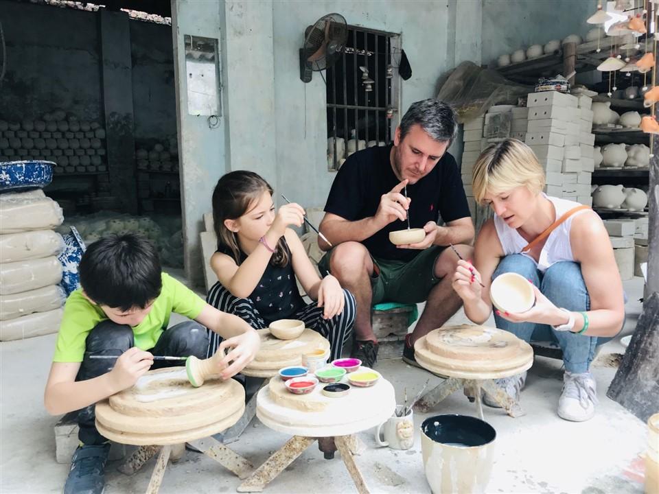làng gốm Bát Tràng Việt Nam