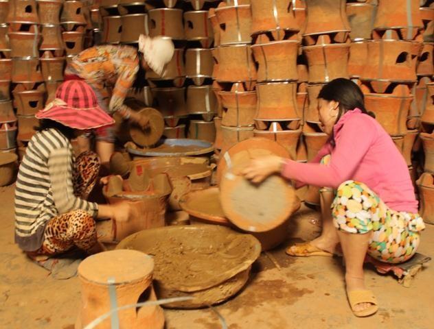 Làng gốm Vân Sơn Bình Định