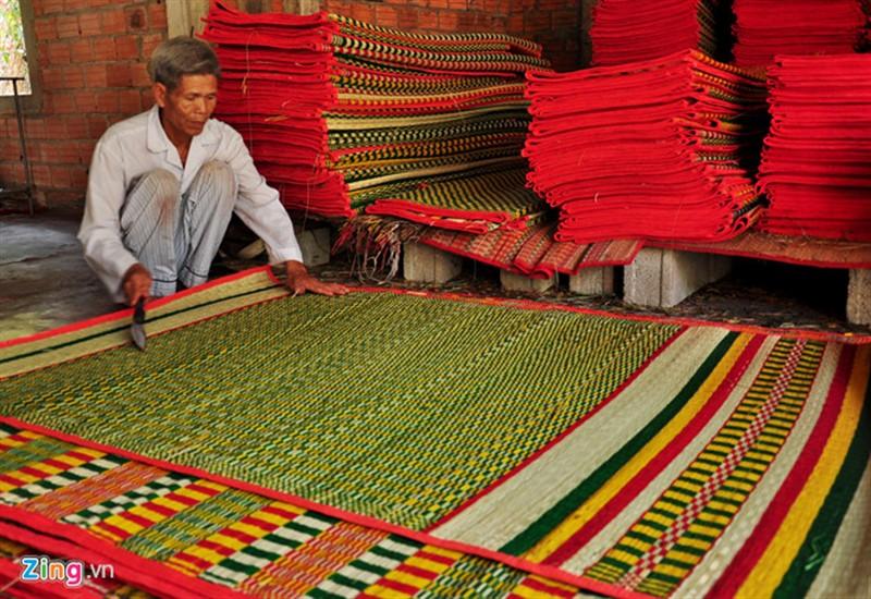 làng nghề chiếu cói Bình Định