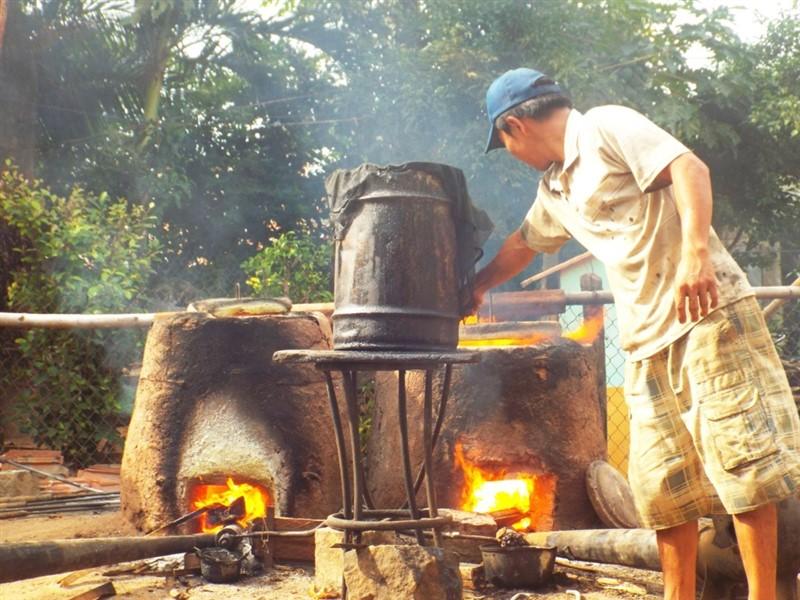 làng nghề đúc đồng Bình Châu Bình Định