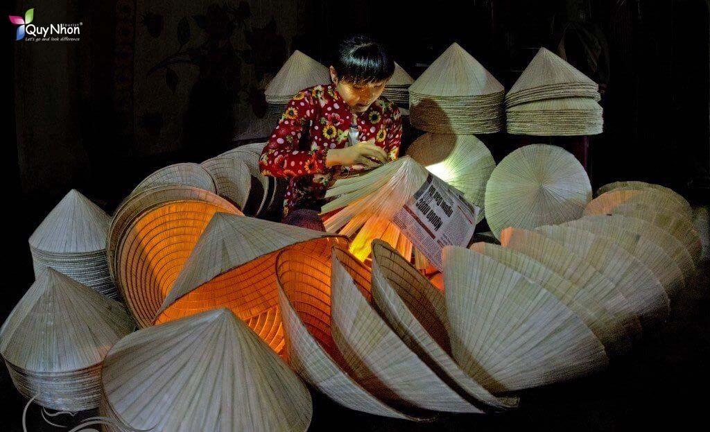 nón lá gò găng Bình Định