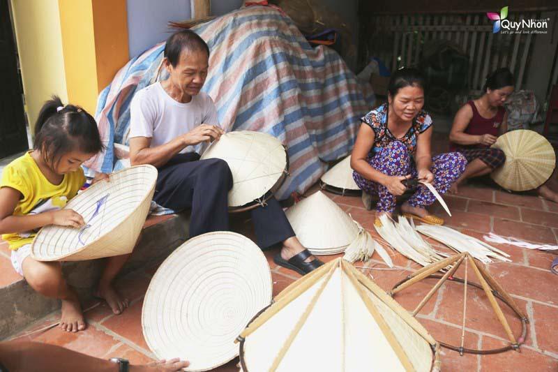 làng nghề nón lá gò găng bình định