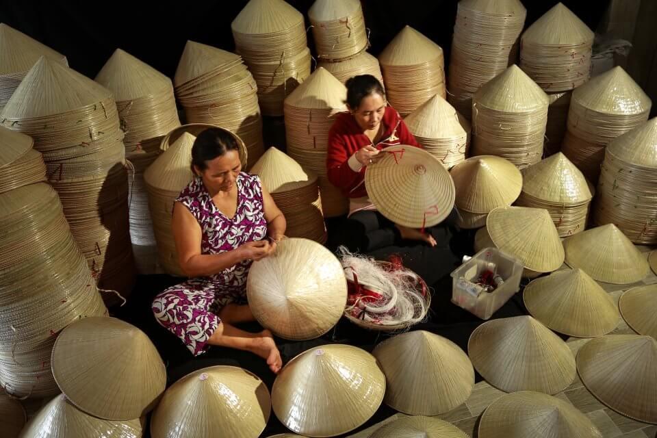 làng nghề nón lá Việt Nam