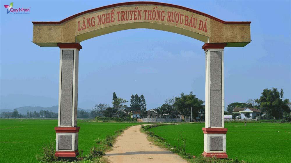 làng nghề truyền thống rượu bàu đá Bình Định