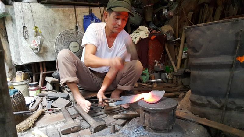 làng rèn Tây Phương Danh - Bình Định
