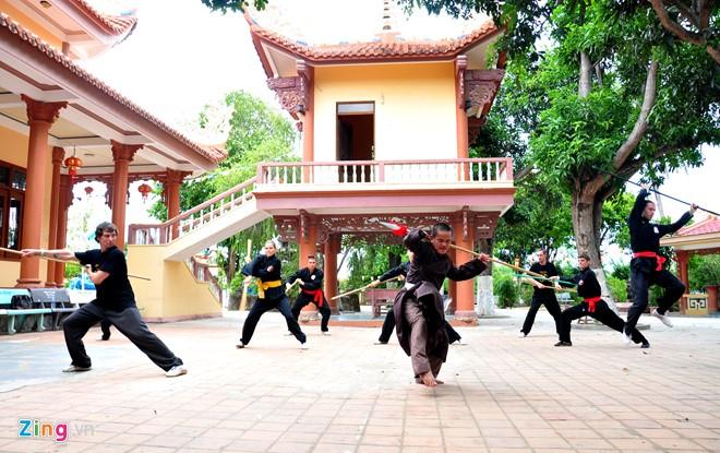 Võ đường Long Phước Tự - Chùa Long Phước - Võ cổ truyền Bình Định