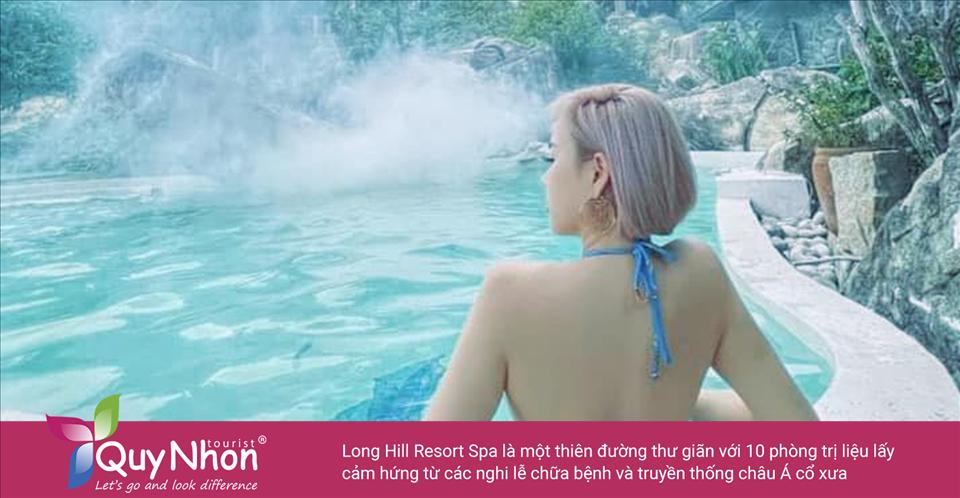 Tại Long Hill Resort & Spa có hàng loạt các liệu pháp tẩy tế bào chết toàn thân, chăm sóc móng, chăm sóc tóc và chăm sóc da, hoặc du khách có thể chọn thư giãn trong bể sục, phòng xông hơi khô và phòng xông hơi ướt - Ảnh: Sưu Tầm