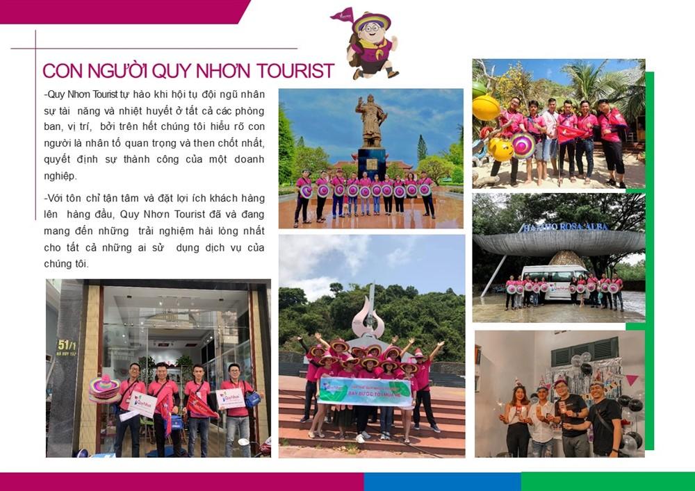 hồ sơ năng lực Quy Nhơn Tourist