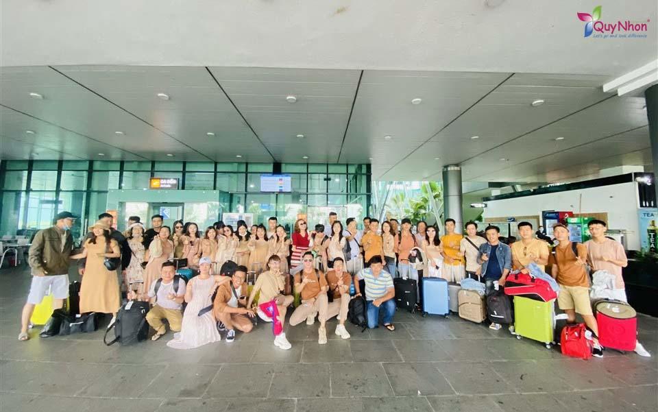 chuyến đi Tiền Giang - Quy Nhơn tuyệt vời. công ty tổng hợp miền tây