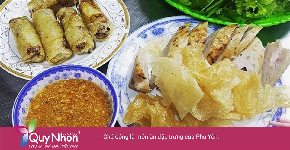 Chả dông là món ăn đặc trưng của Phú Yên.