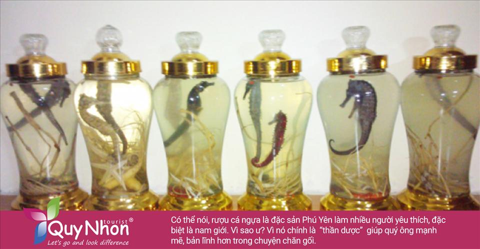 Rượu cá ngựa được rất nhiều người yêu thích, đặc biệt là nam giới.