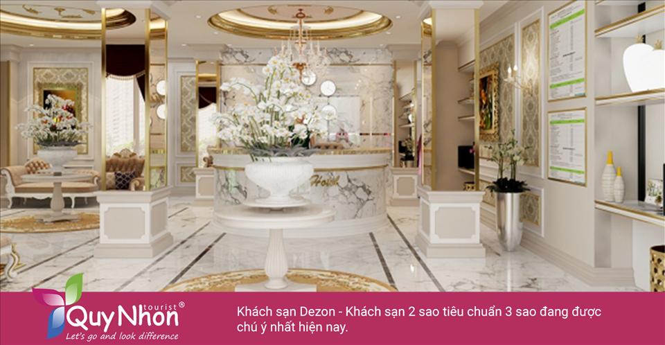 Khách sạn Dezon - khách sạn 2 sao Quy Nhơn tiêu chuẩn 3 sao sắp khai trương đang được chú ý nhất hiện nay - Ảnh: Sưu Tầm