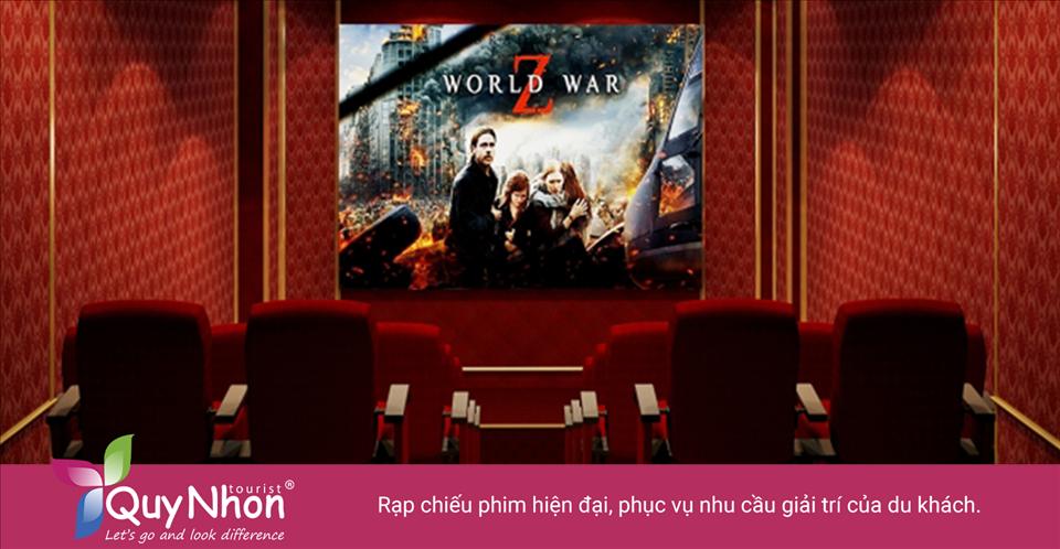 Rạp chiếu phim hiện đại, phục vụ nhu cầu giải trí của du khách - Ảnh: Sưu Tầm