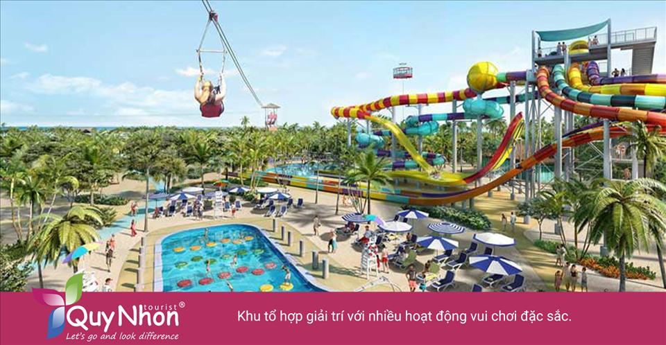 Khu tổ hợp giải trí với nhiều hoạt động vui chơi đặc sắc.