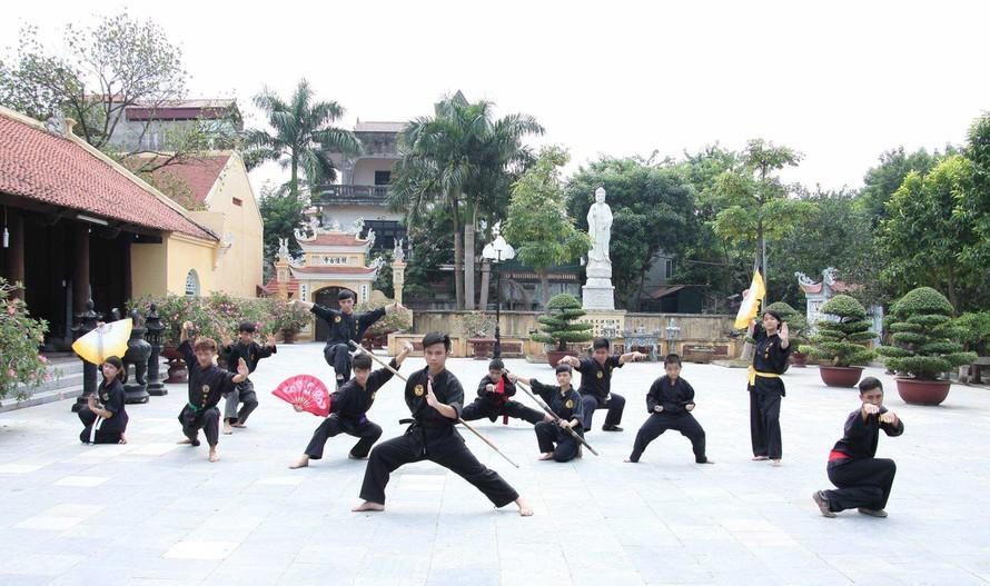 Võ đường long phước tự Bình Định