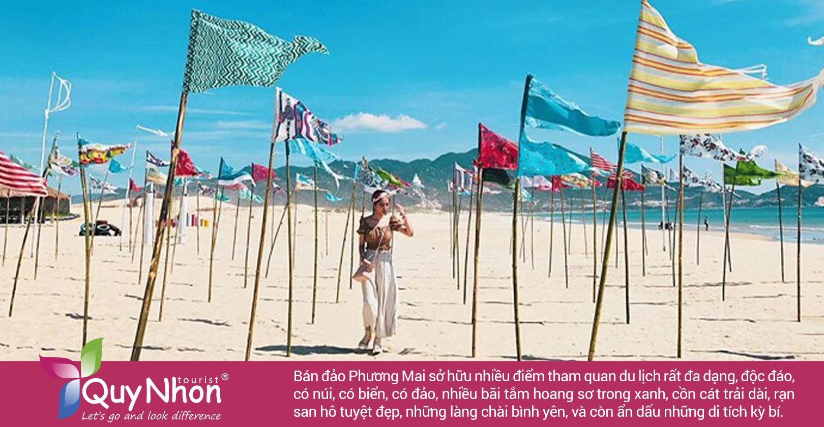 Không thể bỏ qua bán đảo Phương Mai trên bản đồ du lịch Bình Định
