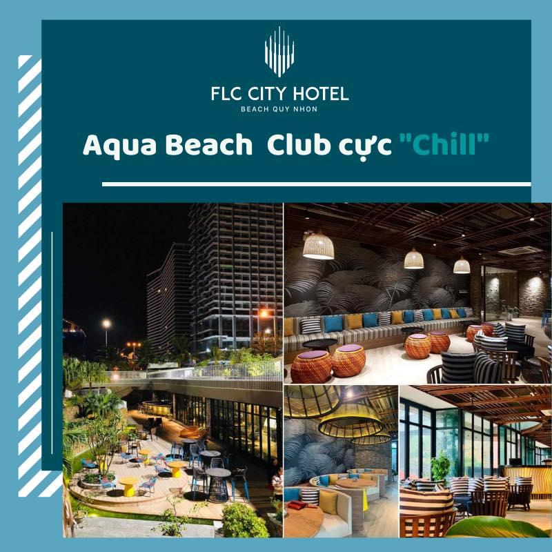 "Aqua Beach Club cực ""chill"""