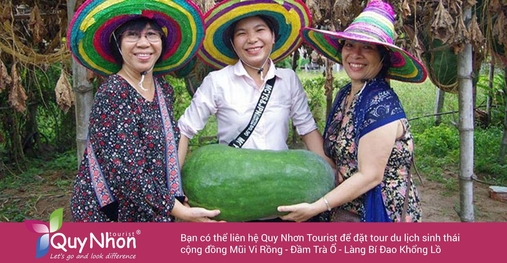 Đặt tour Làng Bí Đao tại Quy Nhơn Tourist.