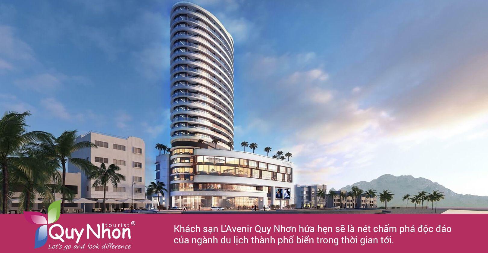 Khách sạn L'Avenis Quy Nhơn 4 sang mang tiêu chuẩn quốc tế.